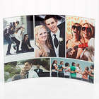 Personalized Favorite Photo Cuved Glass Print