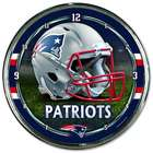 New England Patriots Chrome Plated Clock