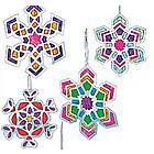Snowflake Suncatcher Kit