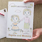 Personalized Mommy & Me Mother's Day Card