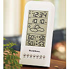 Indoor and Outdoor Weather Minder with Clock and Calendar