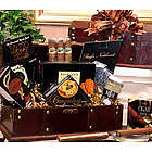Medium Gentleman's Cigar Chest with Gourmet Snacks