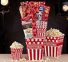 Popcorn and Sweets Gift Basket