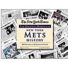 New York Mets History Newspaper Replica