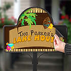 Tropical Paradise Personalized Yard Stake Magnet