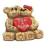 Personalized Sweetheart Couple Bear Figurine