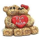 Personalized Sweetheart Couple Bear Figurine