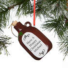 Personalized Beer Growler Ornament