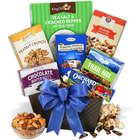 Men's Gourmet Snacks and Munchies Christmas Gift Basket