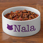 Pet's Small Bowl with Personalized Initials
