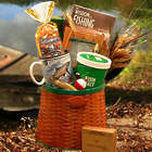 The Fisherman's Fishing Creel Gift Basket