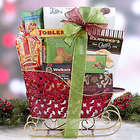 Holiday Sleigh of Sweets Gift Basket