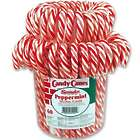 60 Traditional Peppermint Candy Canes Tub