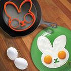 Funnyside Up Bunny Egg Frame