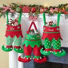 Personalized Jingle Bell Elf Pants Stocking