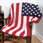 USA Flag Recycled Cotton Throw