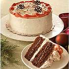 Winter Wonderland Peppermint Chocolate Cake