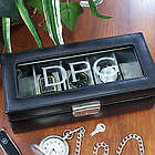 Engraved Watch Display Case