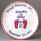 Boy's or Girl's Birth Plate