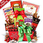 Big Holiday Gift Basket for Christmas
