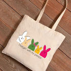 Personalized Hangin' with My Peeps Easter Tote