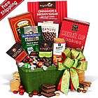 Holiday Greetings and Treats Gift Basket