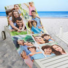 Personalized 5-Photo Collage Beach Towel