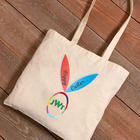 Bunny Ears with Monogram Easter Tote