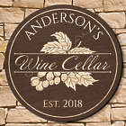 "Rhone Valley 15.5"" Personalized Wine Cellar Sign"