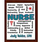 Nurse Expressions Personalized Plaque