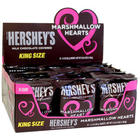 24 Hershey's King Size Marshmallow Heart Candies