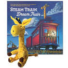 Steam Train, Dream Train Board Book with Sounds and Giraffe