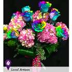 Rainbows and Roses Bouquet