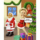 Naughty Mrs. Claus Caricature from Photo