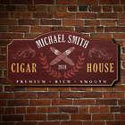 Personalized Famous Smoke Wall Decor Sign