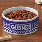 Pet Pun Personalized Small Pet Bowl