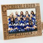 Personalized C is for Cheerleader 8x10 Picture Frame