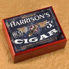 Personalized Name and Design Humidor