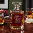 Lawyer's Personalized Carson Courthouse Decanter