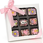 Box of 9 Mother's Day Chocolate Dipped Krispies