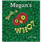 Peek-a Who Personalized Board Book