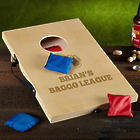 Beer League Engraved Bean Bag Toss Game