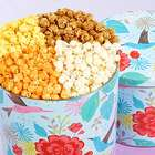 Hummingbird Garden 2 Gallon 4-Flavor Popcorn Tin