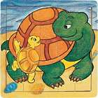 Turtle Family 21-Piece Wooden Jigsaw Puzzle