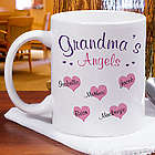Angels of My Heart Personalized Coffee Mug