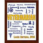 Veterinarian Expressions Personalized Plaque