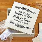 Personalized Happily Ever After Keepsake Box