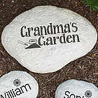 Engraved My Garden Stepping Stone