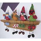 Holiday Bird Shelf Sitter Set