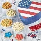 Popcorn and Treats Heart-Shaped Flag Gift Box